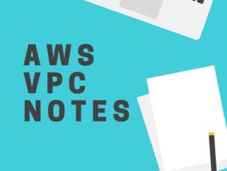AWS VPC notes